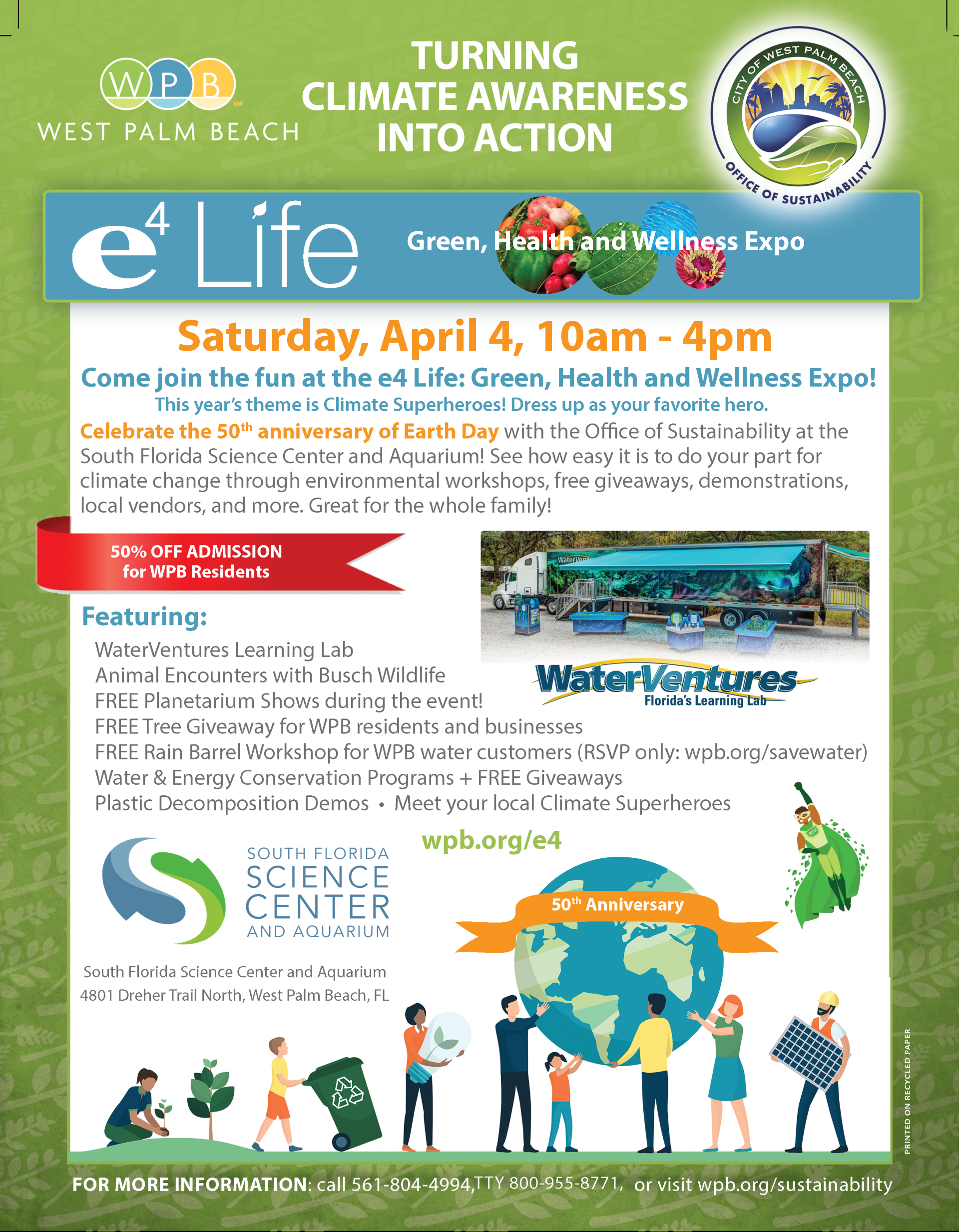 Sustainability Flyer March 2020 FRONT