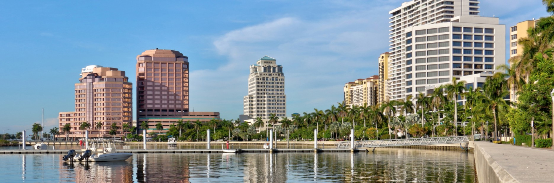 Downtown Waterfront in West Palm Beach