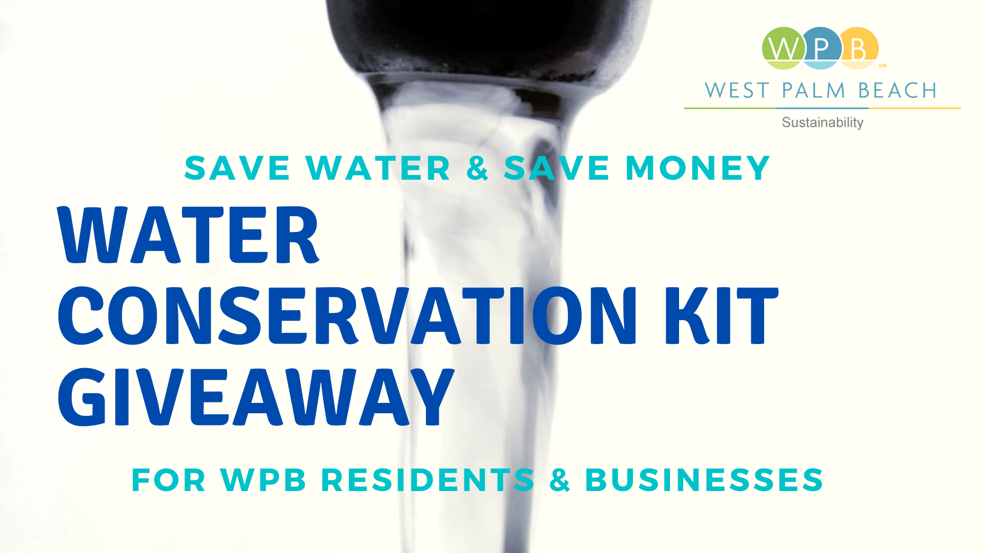 water conservation kit giveaway