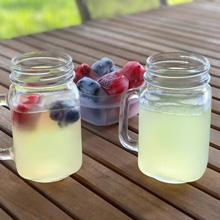 Photo of Lemonade with Berry Ice Cubes