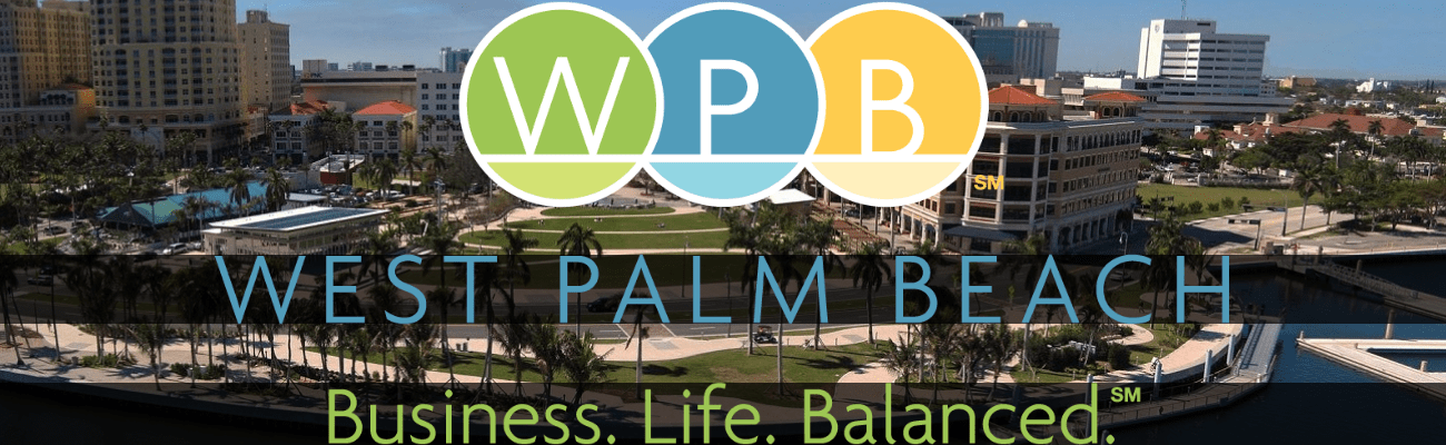 West Palm Beach Business Life Balanced Logo