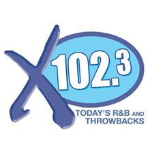 X 102.3 Logo