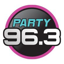 Party 96.3 Logo